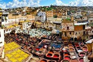 Chouara Tanneries in Fez